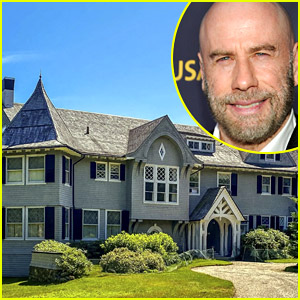Look Inside John Travolta's Mansion in Maine, Which He's Selling for $5 Million
