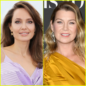 Angelina Jolie & Ellen Pompeo Meet Up for Dinner in Beverly Hills!