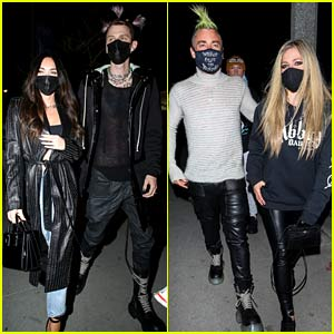 Megan Fox & Machine Gun Kelly Go On a Double Date with Avril Lavigne & Mod Sun