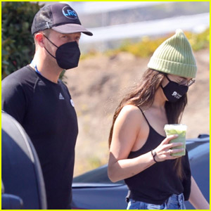 Dakota Johnson & Chris Martin Head Out for a Bite to Eat in Malibu