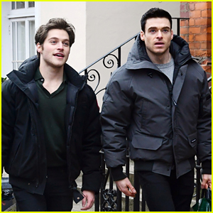 Richard Madden & Froy Gutierrez Seen Together Again in London