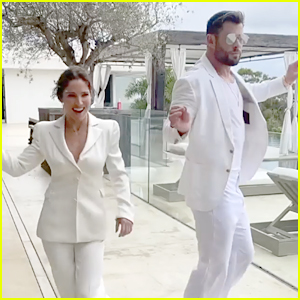 Chris Hemsworth Shows Off Killer Dance Moves While Hosting Party With Wife Elsa Pataky in Sydney