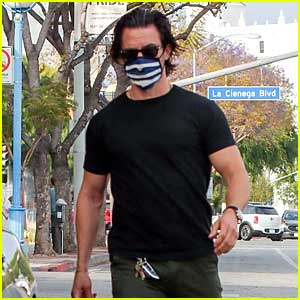Milo Ventimiglia Kicks Off His Week with a Workout - See Photos!