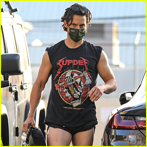 Milo Ventimiglia Finally Reacts to Viral Photos of Him in Short Shorts!