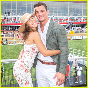 Tyler Cameron Cozies Up With Camila Kendra at The Preakness