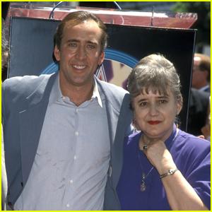 Nicolas Cage's Mom Joy Has Sadly Died at 85