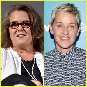 Rosie O'Donnell Addresses Ellen DeGeneres' Daytime TV Exit